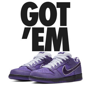 NIKE - nike sb dunk purple lobster