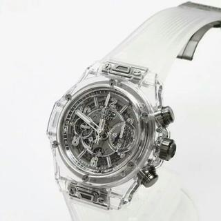 ウブロ(HUBLOT)のウブロ ビッグバン ウニコ サファイア 411.JX.4802.RT(腕時計(アナログ))