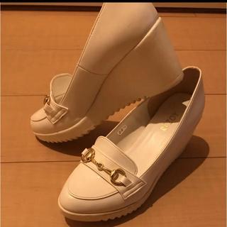 リゾイ(REZOY)のREZOY ローファー 厚底(ローファー/革靴)