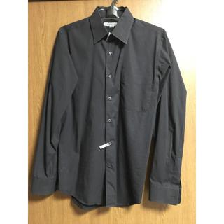 ユニクロ(UNIQLO)のユニクロ ストレッチシャツ ブラック(シャツ)