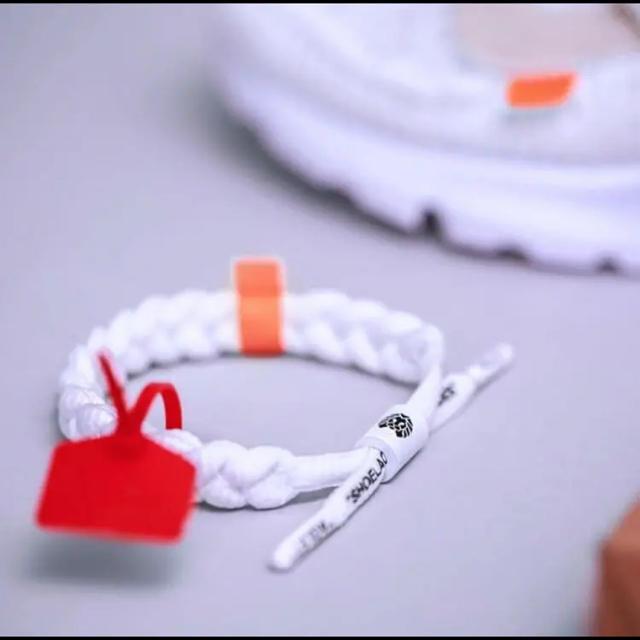 OFF-WHITE(オフホワイト)のoff-clat ブレスレット    二本ペアセット off-white メンズのアクセサリー(ブレスレット)の商品写真
