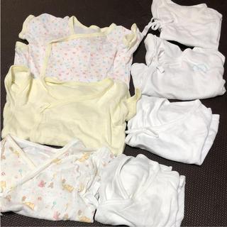 ニシマツヤ(西松屋)の新生児 肌着 まとめ売り 7枚 (肌着/下着)