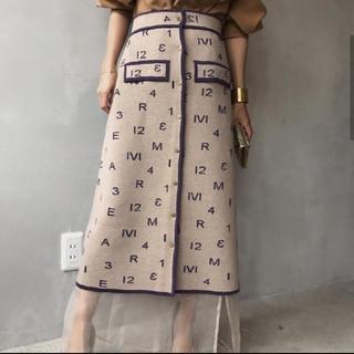 アメリヴィンテージ(Ameri VINTAGE)の新品 即完売 人気カラー(ロングスカート)