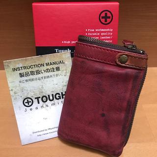 タフ(TOUGH)のタフ tough / レザーウォッシュ 限定色 未使用(折り財布)