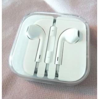 アイフォーン(iPhone)のiPhoneイヤホン正規品(ヘッドフォン/イヤフォン)