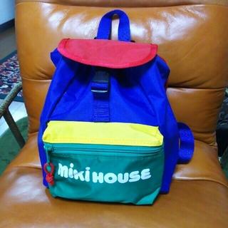 9b9b25c9417f ミキハウス(mikihouse)のミキハウス MIKIHOUSE リュック バッグ 新品 レトロ(リュックサック)