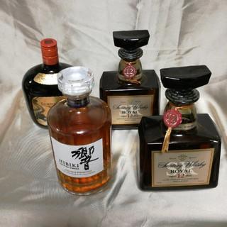 サントリー(サントリー)のウイスキー4本セット送料無料(ウイスキー)