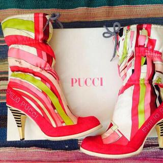 エミリオプッチ(EMILIO PUCCI)のEMILIO PUCCI ブーツ 靴(ブーツ)