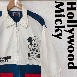 ディズニー(Disney)の古着屋購入 Hollywood Micky ミッキー ブルゾン 1107(ブルゾン)