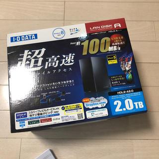 アイオーデータ(IODATA)のラン接続ハードディスク(PC周辺機器)