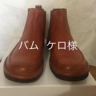 サヤ(SAYA)のsaya    サイドゴア   ショート    23.5cm (ブーティ)