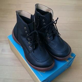 リゲッタカヌー(Regetta Canoe)のリゲッタ カヌー メンズ ブーツ 黒 26cm 26.5cm(ブーツ)