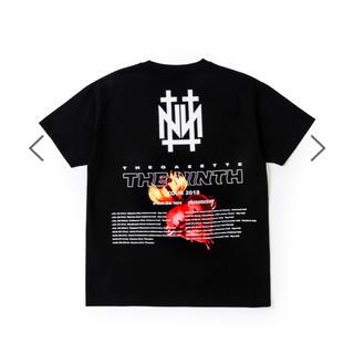 the GazettE ガゼット NINTH ツアー Tシャツ 黒(Tシャツ(半袖/袖なし))