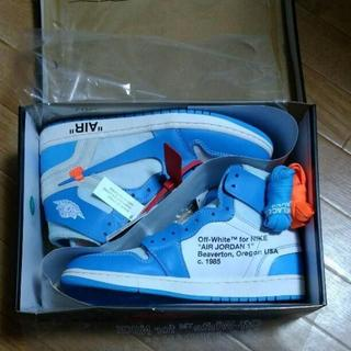 ナイキ(NIKE)のNike×OFF WHITE AIR JORDAN 1 NRG(スニーカー)