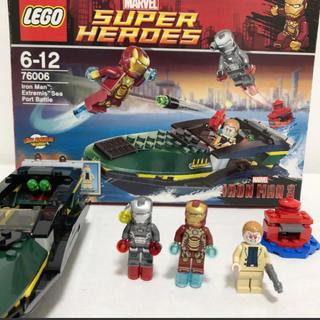 レゴ(Lego)のアイアンマン 76006(積み木/ブロック)