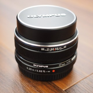 OLYMPUS - OLYMPUS M ZUIKO  DIGITAL17mm f1.8 中古