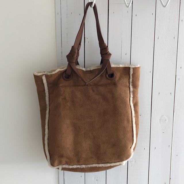 UGG(アグ)のアグ ugg ムートンバッグ ベージュ レディースのバッグ(ショルダーバッグ)の商品写真