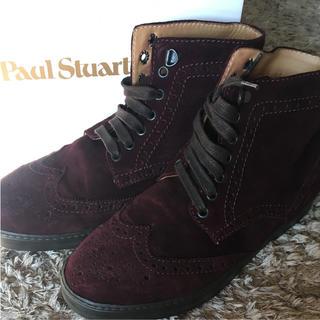 ポールスチュアート(Paul Stuart)の美品✴︎ポールスチュアート メンズ 靴 ブーツ Paul Stuart(ブーツ)