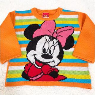 ディズニー(Disney)の日本製 ディズニー ミニー セーター レトロ レア 95(ニット)