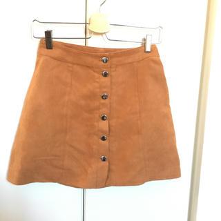 ザラ(ZARA)の台形スカート(ひざ丈スカート)