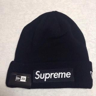 シュプリーム(Supreme)のSupreme New Era Box LogoBeanie ビーニーニット帽(ニット帽/ビーニー)