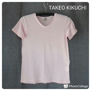 タケオキクチ(TAKEO KIKUCHI)のタケオ キクチ Tシャツ(Tシャツ/カットソー(半袖/袖なし))