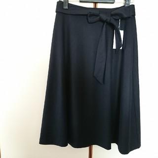 ジェイプレスレディス(J.PRESS LADIES)のJPREES 今季冬物 新品未使用タグ付きスカート(ひざ丈スカート)