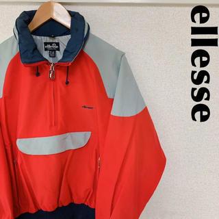 エレッセ(ellesse)の古着屋購入 ellesse エレッセ セーリングジャケット デカロゴ 1121(ナイロンジャケット)