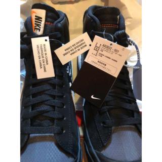 26cmUS8国内正規品Off-White x Nike Blazer Mid(スニーカー)