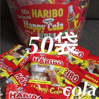 コストコ - 50袋  ♡  ハリボー  グミ  ハッピーコーラ