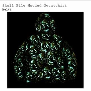 supreme  Skull Pile Hooded Sweartshirt (パーカー)