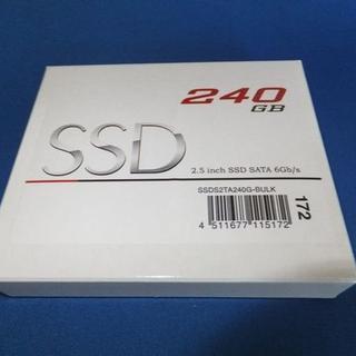 高速モデル 新品 グリーンハウス SSD 2.5インチ 240GB 7mm(PCパーツ)