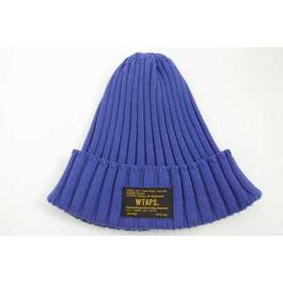 WTAPS 15SS BEANIE 04 BLUE(Tシャツ/カットソー(半袖/袖なし))