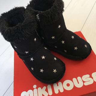 ミキハウス(mikihouse)のミキハウス 星柄ブーツ(ブーツ)