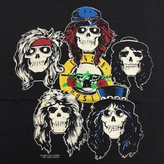 バンドTシャツ GUNS N' ROSES XLサイズ ガンズアンドローゼズ Ⅱ(Tシャツ/カットソー(半袖/袖なし))