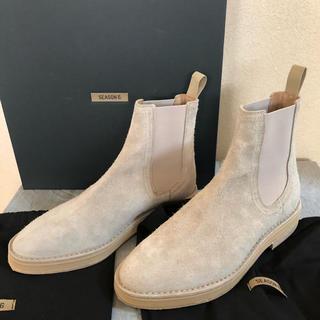 Yeezy Season 6 スウェードチェルシーブーツ サイズ42(ブーツ)