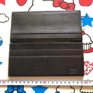 ケンゾー(KENZO)のKENZO ケンゾー 男女兼用 ブラックカラー 新品未使用レザー・長財布 正規品(長財布)