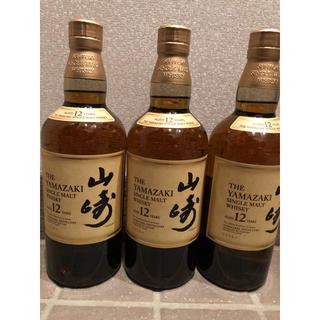 サントリー(サントリー)の山崎12年×3本(ウイスキー)