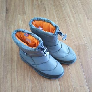 ザノースフェイス(THE NORTH FACE)のノースフェイスヌプシブーツフーディ【刺繍boxロゴ26cm】(ブーツ)