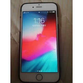 アイフォーン(iPhone)のiphone6 64gb ゴールド 本体(スマートフォン本体)