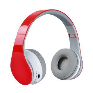 ☆セール中☆ヘッドホン Bluetooth 密閉型 3.5mm レッド(ヘッドフォン/イヤフォン)