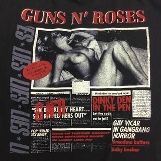 バンドTシャツ GUNS N' ROSES ガンズアンドローゼズ XLサイズ Ⅲ(Tシャツ/カットソー(半袖/袖なし))
