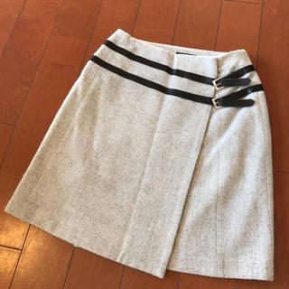 イネド(INED)のラップ スカート (ミニスカート)