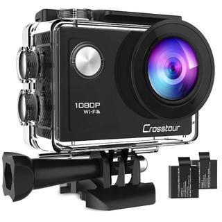 Crosstour アクションカメラ WiFi搭載 1080PフルHD高画質(ビデオカメラ)