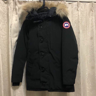カナダグース(CANADA GOOSE)のカナダグース ジャスパー ブラック Mサイズ(ダウンジャケット)