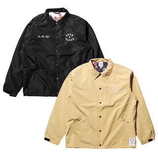 シュプリーム(Supreme)のborn x raised coach jacket コーチジャケット(ナイロンジャケット)