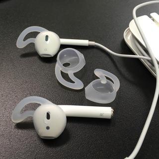 アイフォーン(iPhone)のiPhoneイヤホン シリコンカパー イヤーピースAirpods EarPods(ヘッドフォン/イヤフォン)