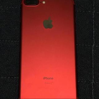アップル(Apple)のiPhone 7Plus 256GB SIMフリー版 白ロム (スマートフォン本体)