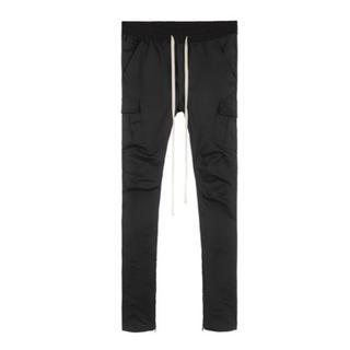 mnml CARGO DRAWCORD PANTS BLACK(ワークパンツ/カーゴパンツ)