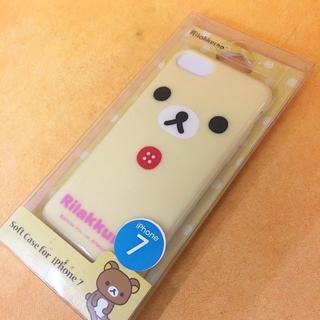 リラックマ  iPhone7 スマホケース GRC158B(iPhoneケース)